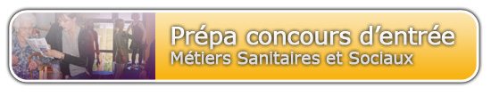 Formation Prépa concours Sanitaire et Social